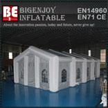 Mobile Inflatable Wedding Party Tent with LED Light