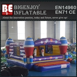 Inflatable rocket bouncy castle - BH0218B